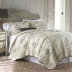 3-Piece Beatrix Cotton Quilt Set