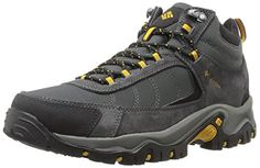 Columbia Mens Granite Ridge Mid Waterproof Hiking Shoe Dark Grey Golden Yellow 11 D US >>> You can get more details by clicking on the image.