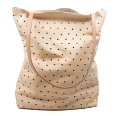 Everyone here in the shop is currently in love with Pine + Boon's punched totes.
