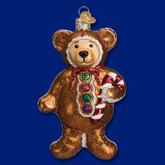 12439-Gingerbread Teddy.