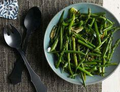 Asparagus Green Onion Saute: Recipes + Menus : gourmet.com
