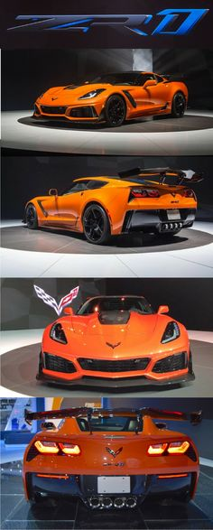 2019 Chevrolet Corvette ZR1 with 766 horsepower is fastest-ever Vette. Click on the image to read more.