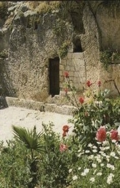 Garden Tomb - my favorite place in ALL of Israel!! :D