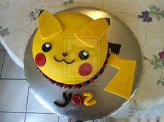 Pikachu Cake by PnJLover on deviantART More