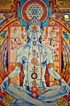 Understanding Spiritual with yoga, chakras, Nervous system, food and deities. Kundalini Meditation, Meditation Art, Yoga Art, Yoga Chakras, Shiva Art, Hindu Art, Spirituality Posters, Yoga Kunst, Tantra Art