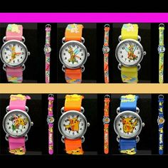 Pokemon Childrens Watch Pikachu Wristwatch For Kids Girls Boys Quartz Boys Childrens Girl Childrens Watches Kids Girls Wrist Watch
