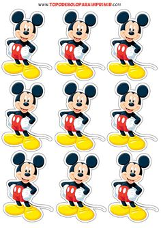 Mickey Mouse Png, Mickey Mouse Crafts, Mickey 1st Birthdays, Fiesta Mickey Mouse, Theme Mickey, Mickey Mouse Clubhouse Birthday Party, Mickey Birthday, Mickey Party, Mickey Mouse And Friends