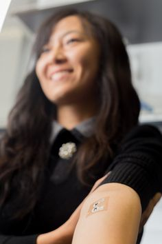 Temporary Tattoos Measure Glucose Level Needle-Free