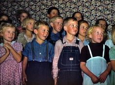 Color photos from The Great Depression.