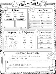 Summer Review Packet - 10 weeks of language arts & math printables that cover 90% of the CCSS for 1st grade. Free example sheets included in the preview.   All you have to do is print and send home.  $$$