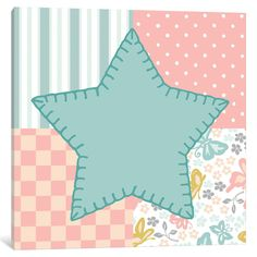 Baby Quilt IV Canvas Art