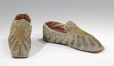 Evening Slippers 1835-1845 The Metropolitan Museum of Art