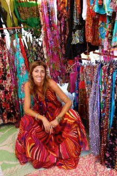Las Dalias Hippie Market Ibiza 2. A lot of tourists but nice to wander around - Seems like my kinda place!
