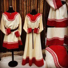All about fashion. Viking Garb, Viking Reenactment, Viking Dress, Medieval Dress, Medieval Costume, Viking Clothing, Historical Clothing, Vikings, Mens Garb