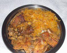 W Mojej Kuchni Lubię.. : szybkowar-żeberka z kapustą kiszoną... Cooker, Curry, Ethnic Recipes, Food, Curries, Meal, Eten, Meals