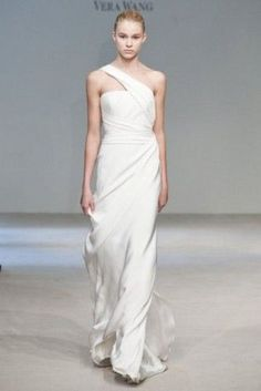 minimalistic wedding dress