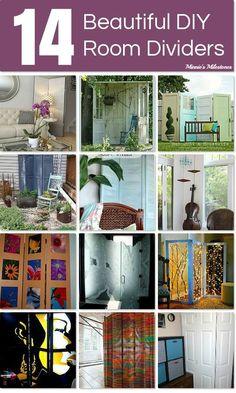 14 Beautiful DIY Room Dividers