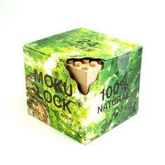 もくロック24ピースセット - 日本製の木のおもちゃ!無垢材の木製ブロック『もくロック』