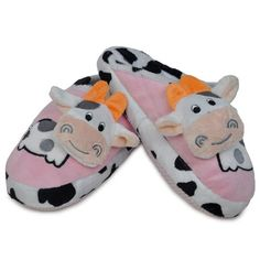 Pop Up Cow Design Slipper