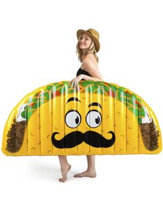 Giant Taco Pool Float - Big Mouth Toys : A Unique Gifts Website