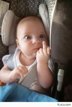 15 Cute and Funny Baby Pictures Funny Babies, Funny Kids, Cute Kids, Funny Baby Faces, Haha Funny, Funny Cute, Funny Memes, Hilarious Quotes, Funny Captions