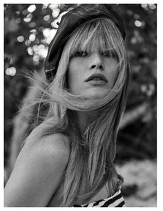 Anna Ewers Embraces Swimsuit Season Looks for Vogue Germany