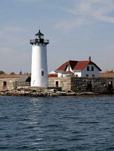 Portsmouth Lighthouse, New Castle, New Hampshire