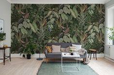 Décor panoramique Mischievous Monkeys, Lush - Collection Palette - Rebel Walls. Au fil des Couleurs.    #papierpeint#wallpaper#wallcoverings#interiordesign#interiordesignideas#deco#décoration  #decorationideas#decor