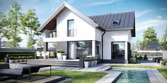 Two Storey Modern House Design - Design Architecture and Art Worldwide