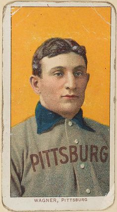 Honus Wagner from the Arents Collection