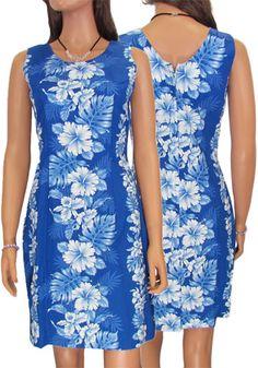Haku Laape Women's Short Hawaiian Dress...very elegant dress