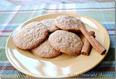 Skinny Snickerdoodles - 54 cal and 10 carbs each