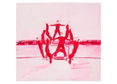 Adomas Danusevičius, Carmine, oil on canvas, 140x150cm, 2012