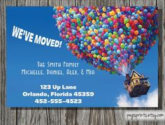 Moving Announcement - We've Moved Printable Card