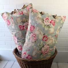 Cottage Chic Pillow Cover from Zinnia Cottage