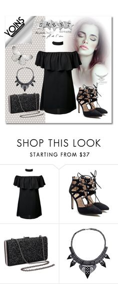 """""""Yoins no.2"""" by silvijo ❤ liked on Polyvore featuring totalblackout and yoins"""