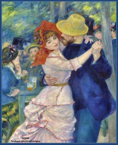 ART PRINT POSTER 303 DANCE AT BOUGIVAL RENOIR PIERRE-AUGUSTE