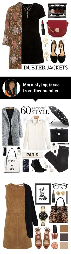 """""""Duster Jackets"""" by lgb321 on Polyvore featuring mode, Accessorize, Topshop, Vincent Longo et NARS Cosmetics"""