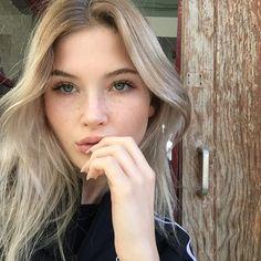 - ̗̀ saith my he A rt ̖́- Sage Tullis, Pretty People, Beautiful People, Tumbrl Girls, Dye My Hair, Tips Belleza, Aesthetic Girl, White Girls, Freckles