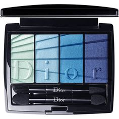 DIOR 4 couleurs eyeshadows ($52) ❤ liked on Polyvore featuring beauty products, makeup, eye makeup, eyeshadow, christian dior, palette eyeshadow, christian dior eye shadow and christian dior eyeshadow