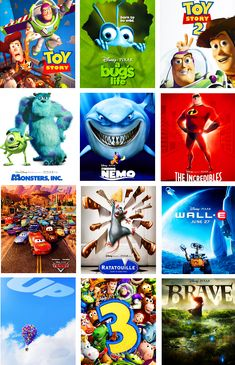 I love every Disney Pixar movie known to man >>> I have not found one I don't like yet <3 You are never to old for disney :)