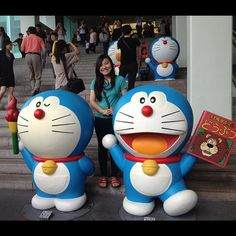 Finally visited the doramon exhibits  - @eunicecheonghm | Webstagram