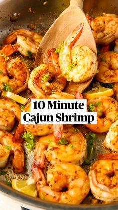 Cooked Shrimp Recipes, Best Shrimp Recipes, Shrimp Recipes For Dinner, Seafood Dinner, Salmon Recipes, Cooking Recipes, Healthy Recipes, Seafood Pasta, Spinach Recipes