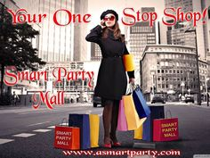 Smart Party is happy to bring you the Smart Party Mall  www.asmartparty.com/