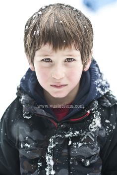 snow kid by Vuslat Sena Akay on 500px