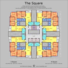 The Square floor plan