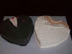 Tuxedo and dress cake Wedding Shower Cakes, Wedding Cakes, Rustic Wedding, Wedding Reception, Reception Ideas, Chelsea Wedding, Dress Cake, Baby Wedding, Cake Decorating