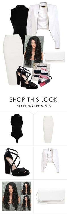 """Untitled"" by dark-kiss ❤ liked on Polyvore featuring Rick Owens, Nina, Alice + Olivia and GET LOST"