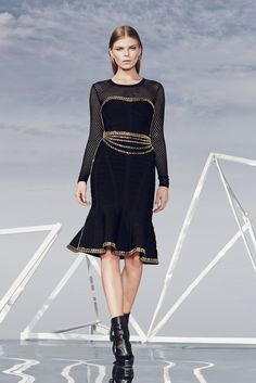 Hervé Léger by Max Azria | Pre-Fall 2014 Collection | Style.com