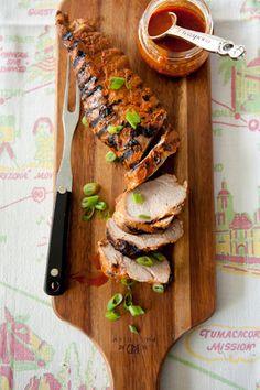 Paula Deen Grilled Pork Tenderloin